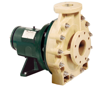 Plastic centrifugal pumps